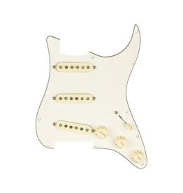 Fender NEW Fender Prewired Strat Pickguard - Custom Shop Fat 50's  - Parchment