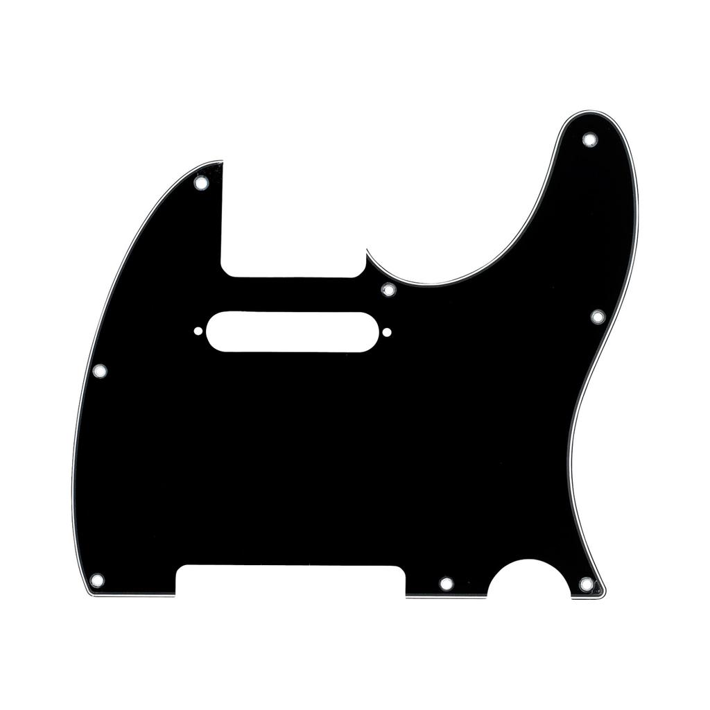 Fender NEW Fender Telecaster Pickguard - 3-Ply - Black