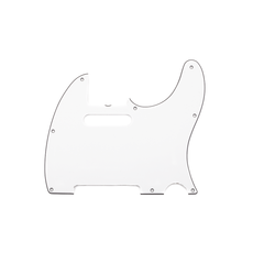 Fender NEW Fender Pure Vintage Telecaster Pickguard - 3-Ply - Eggshell