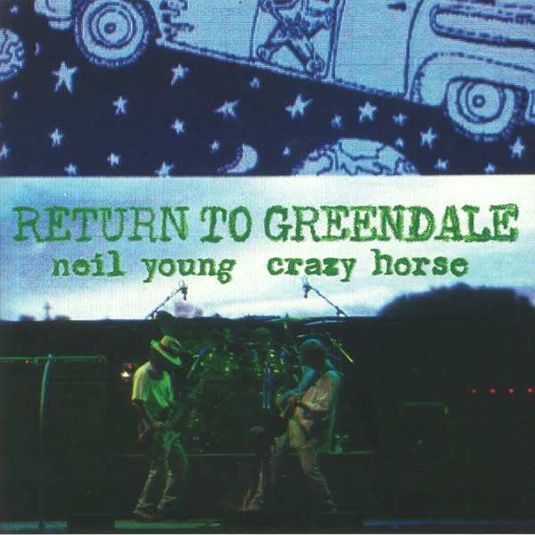 Vinyl Neil Young Return to Greendale