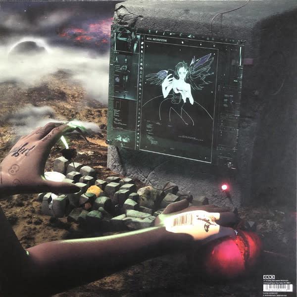 Vinyl NEW  Grimes– Miss Anthropocene-LP-Limited Edition, Pink Transparent