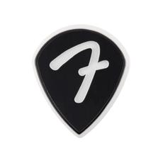 Fender NEW Fender F Grip 551 Picks - Black - 3-Pack