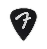Fender NEW Fender F Grip 351 Picks - Black - 3-Pack