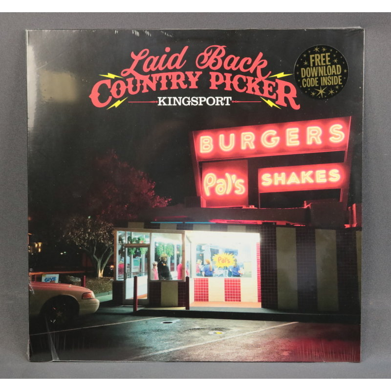 Local Music NEW Laid Back Country Picker - Kingsport (Vinyl)