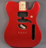 Fender NEW Fender Deluxe Series Telecaster Body - Alder - Candy Apple Red (473)