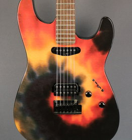Fender USED Fender Limited Edition Band of Gypsies Tie Dye Stratocaster (517)