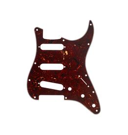 Fender NEW Fender Stratocaster Modern Style Pickguard - Tortoise Shell - 4-Ply