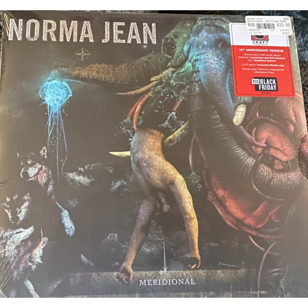 Vinyl NEW  Norma Jean – Meridional-Reissue, Stereo, Turquoise Marble