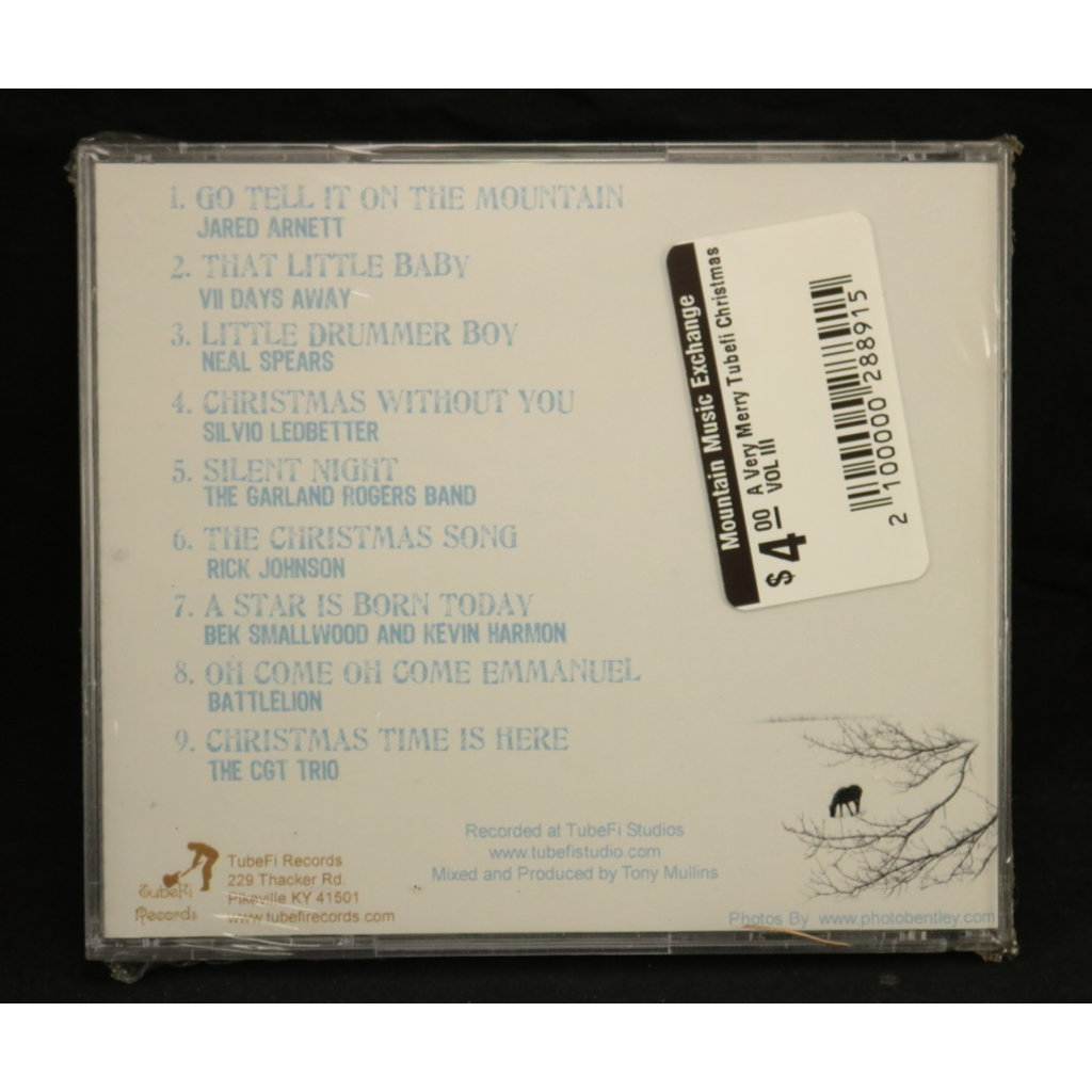 Local Music NEW A Very Merry TubeFi Christmas Vol III (CD)