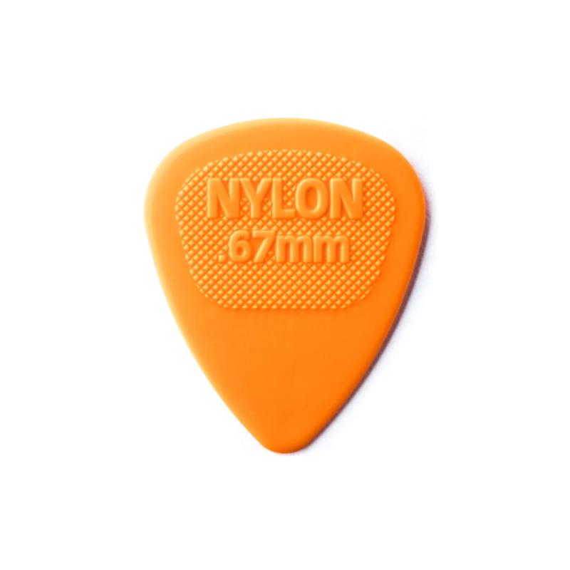 Dunlop NEW Dunlop Picks - Nylon Midi - .67mm - 72 Pack