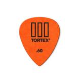Dunlop NEW Dunlop Picks - Tortex TIII - .60mm - 12 Pack