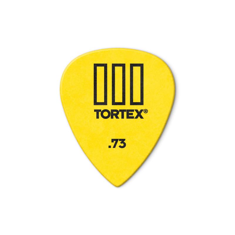 Dunlop NEW Dunlop Picks - Tortex TIII - .73mm - 12 Pack