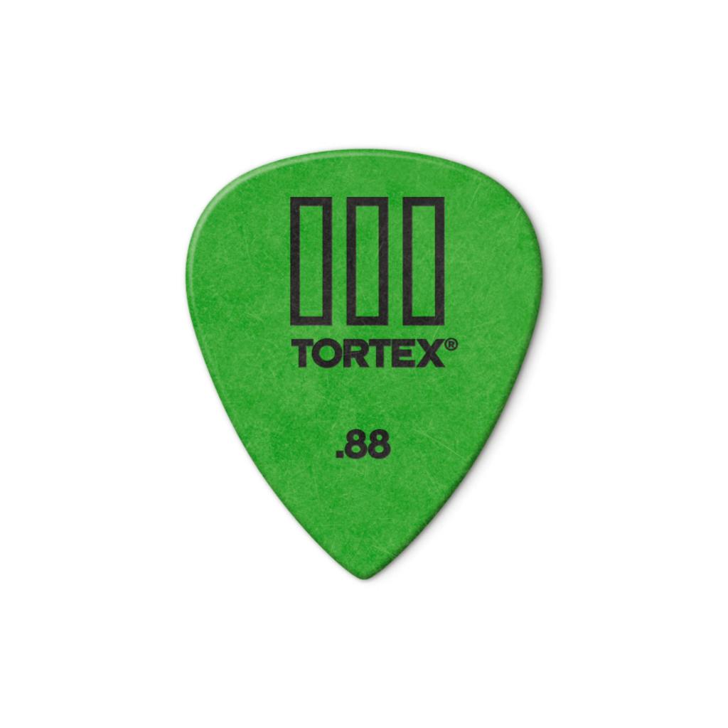 Dunlop NEW Dunlop Picks - Tortex TIII - .88mm - 12 Pack
