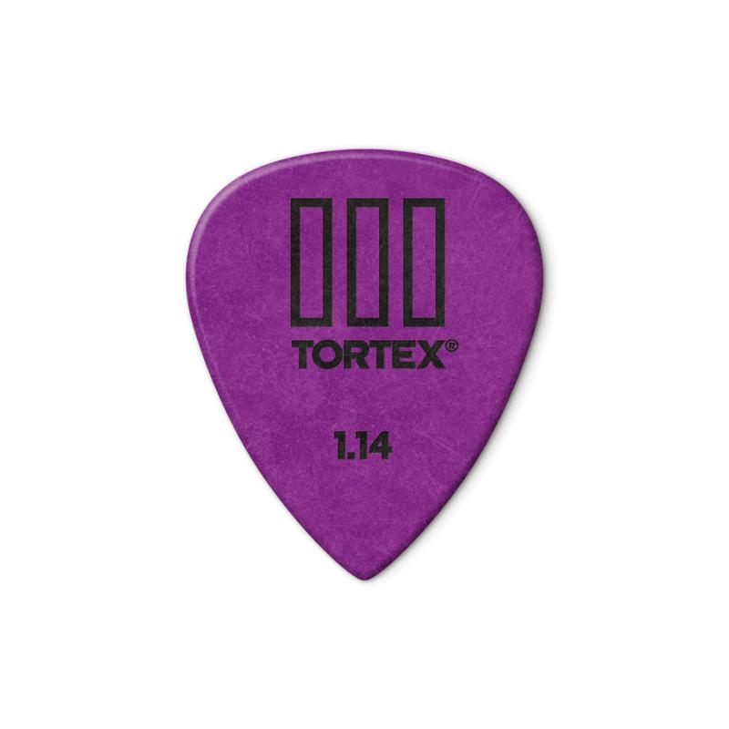 Dunlop NEW Dunlop Picks - Tortex TIII -1.14mm - 12 Pack