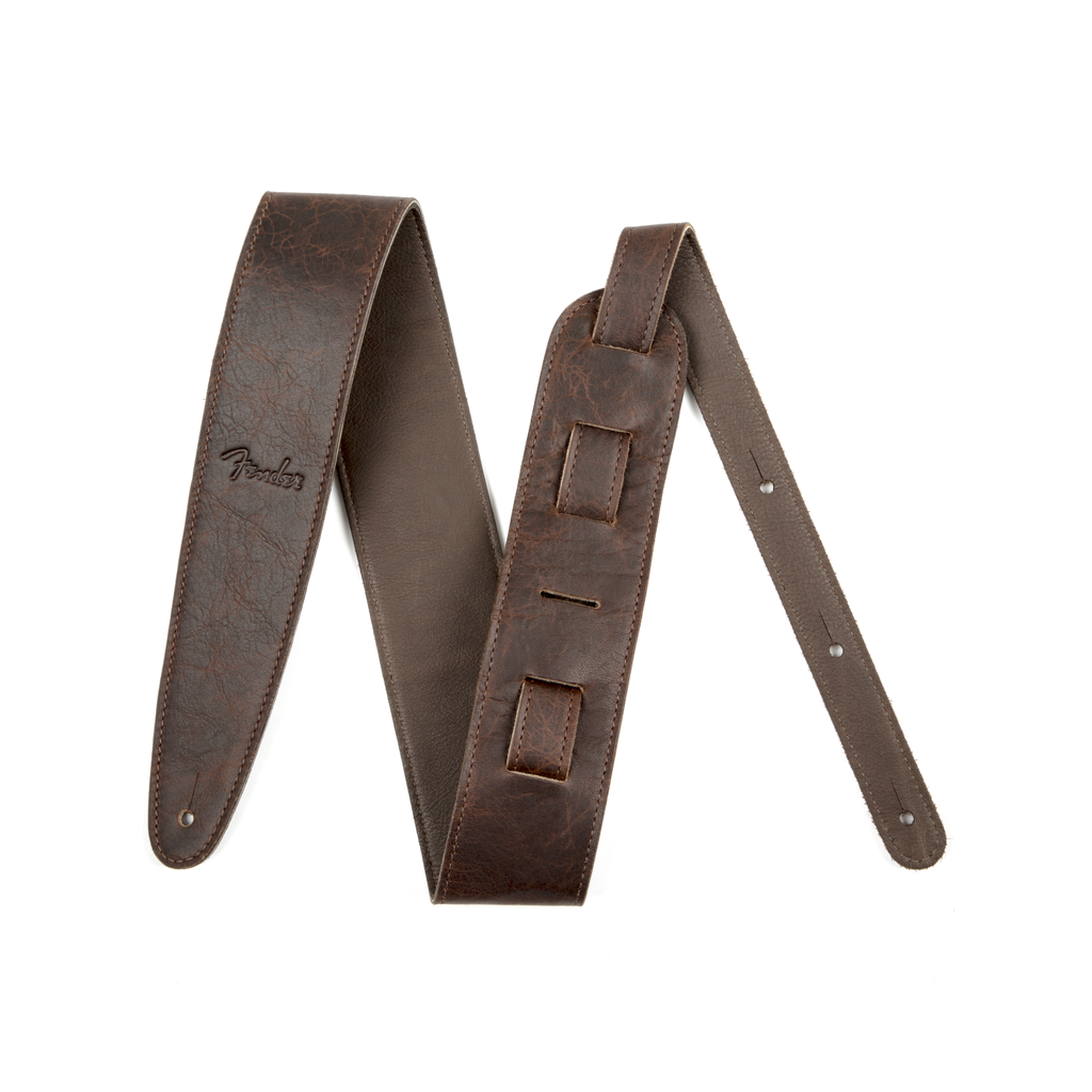 Fender NEW Fender Artisan Crafted Leather Strap - Brown