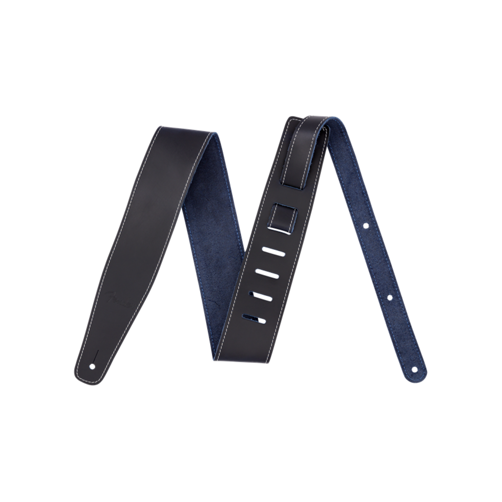 Fender NEW Fender Broken-In Leather Strap - Blue