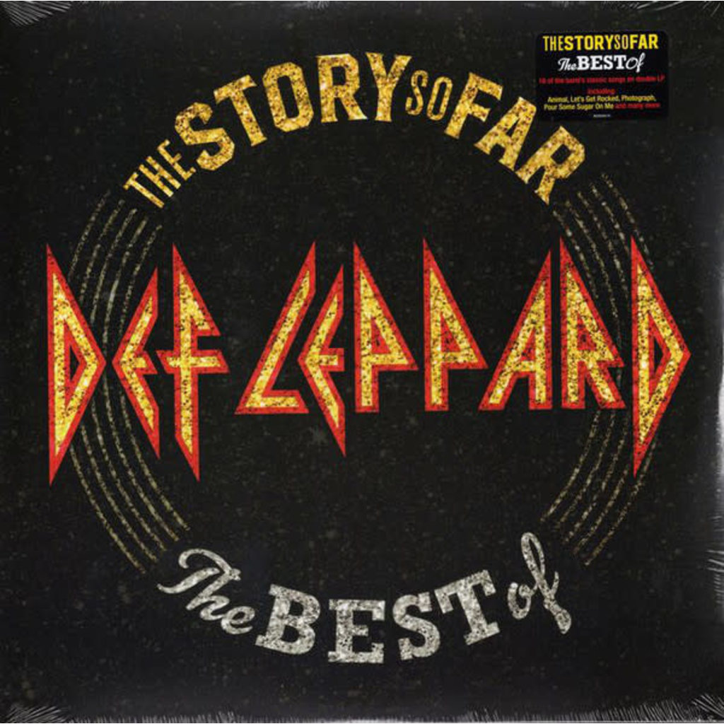 Vinyl NEW  Def Leppard ‎– The Story So Far: The Best Of - 2 × Vinyl, LP, Compilation