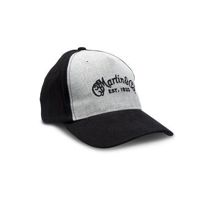 Martin NEW Martin Fitted Hat - Black/Gray - M/L