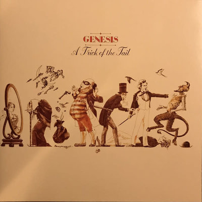Vinyl New  Genesis – A Trick Of The Tail-LP-Yellow Vinyl