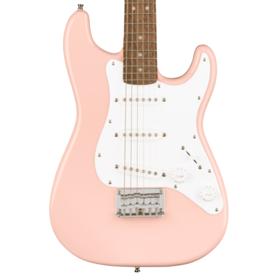 Squier NEW Squier Mini Stratocaster - Shell Pink (155)