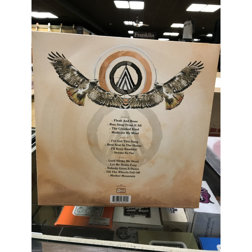 Vinyl USED Blackberry Smoke – Find a Light-Album, Limited Edition, Metallic Sea Glass
