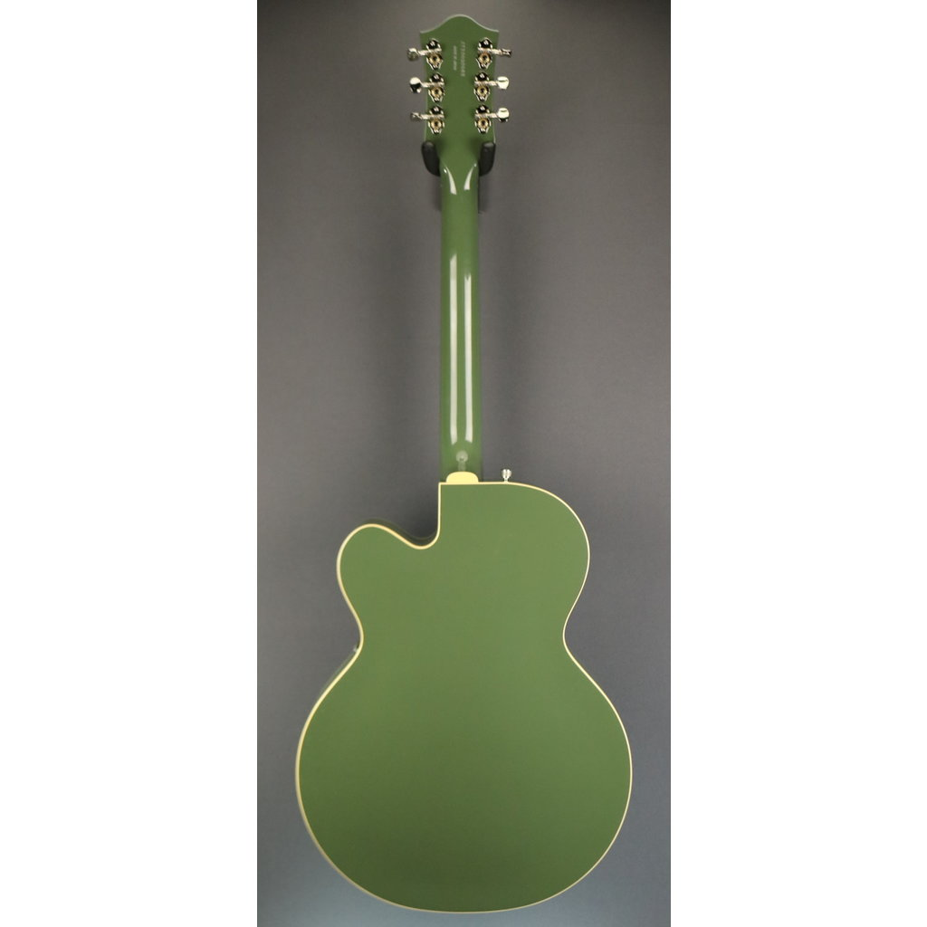 Gretsch NEW Gretsch G6118T-60 Vintage Select 60th Anniversary - 2-Tone Smoke Green (962)