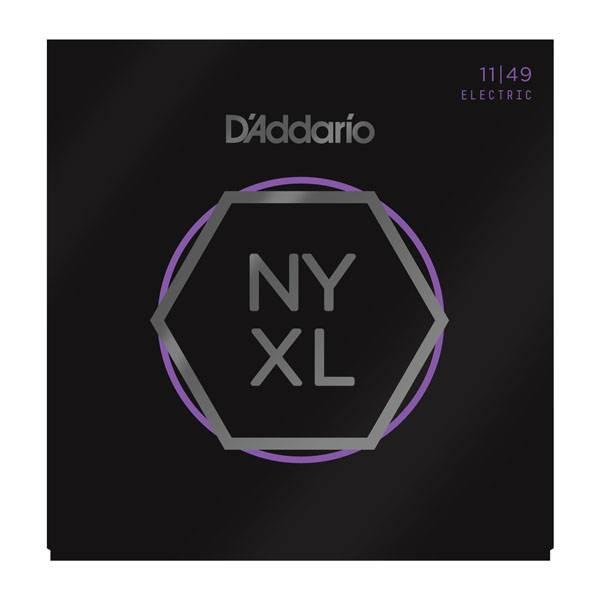 D'Addario NEW D'Addario NYXL Electric Guitar Strings - Medium - .011-.049