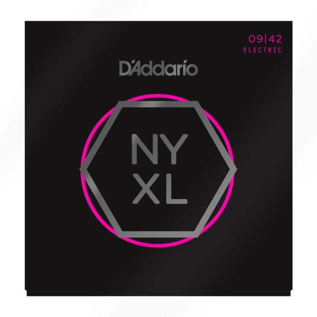 D'Addario NEW D'Addario NYXL Electric Guitar Strings - Super Light - .009-.042