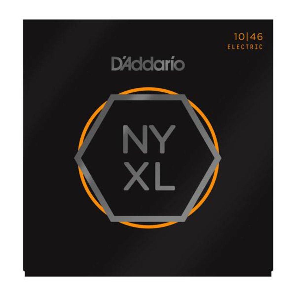 D'Addario NEW D'Addario NYXL Electric Guitar Strings - Regular Light - .010-.046