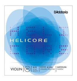 D'Addario NEW D'Addario H310H Helicore Violin Strings - 4/4 - Medium