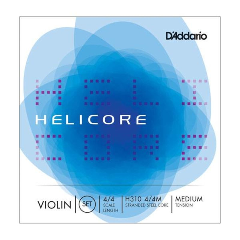 D'Addario NEW D'Addario H310H Helicore Violin Strings - 4/4 - Medium