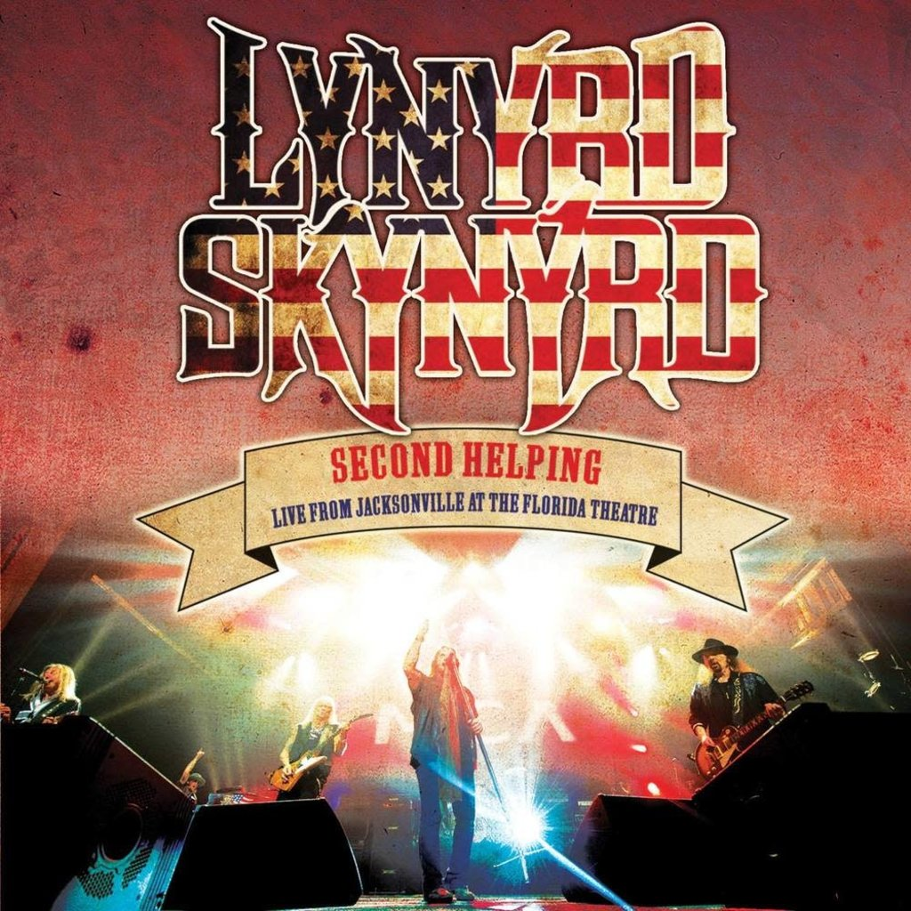 Vinyl new lYNYRD sKYNYRD-Second Helping - Live From Jacksonville At The Florida Theatre [Red & White Splatter LP]