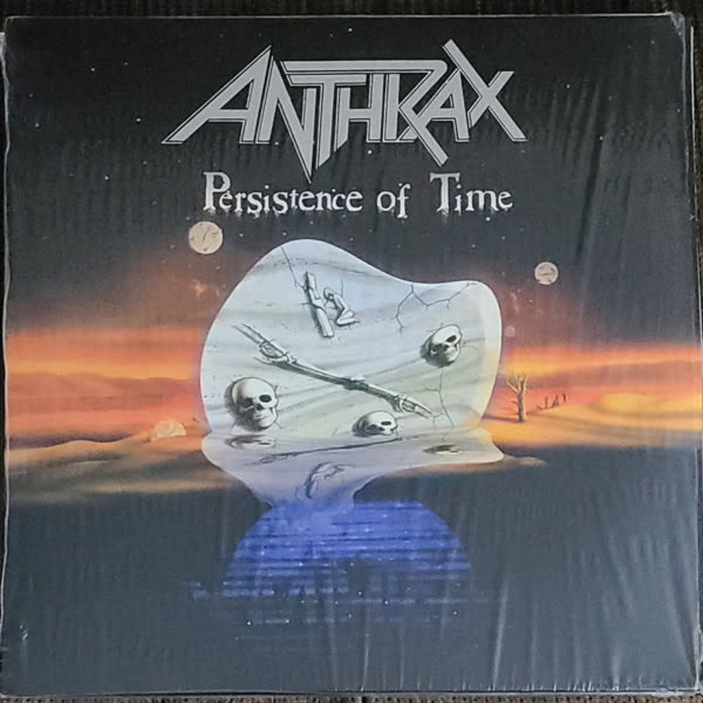 Vinyl NEW Anthrax – Persistence Of Time-4xLP