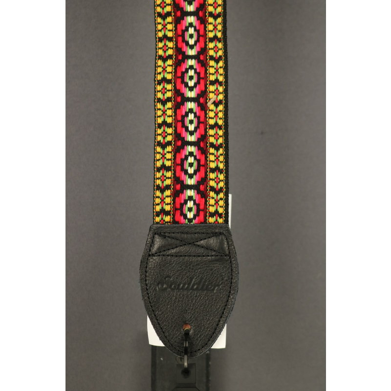 Souldier NEW Souldier Guitar Strap - Bohemian - Red