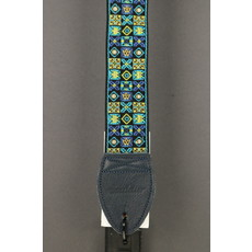 Souldier NEW Souldier Guitar Strap - Woodstock - Blue