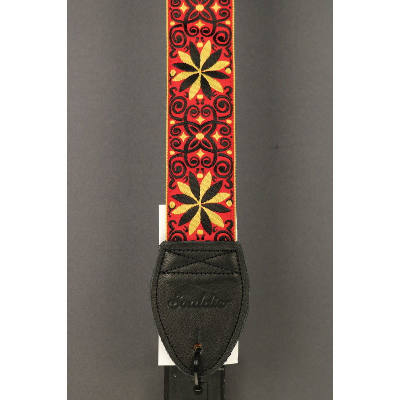 Souldier NEW Souldier Guitar Strap - Dresden Star Hendrix
