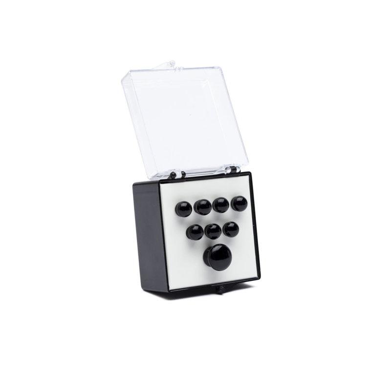 Martin NEW Martin  Authentic Series Bridge/End Pin Set - Plain Black