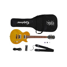 Epiphone NEW Epiphone Slash Appetite Les Paul Special-II Performance Pack - Appetite Amber (765)