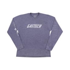 Gretsch NEW Gretsch Power and Fidelity Long Sleeve T-Shirt - Grey - XL