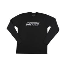 Gretsch NEW Gretsch Long Sleeve Logo T-Shirt - Black - M