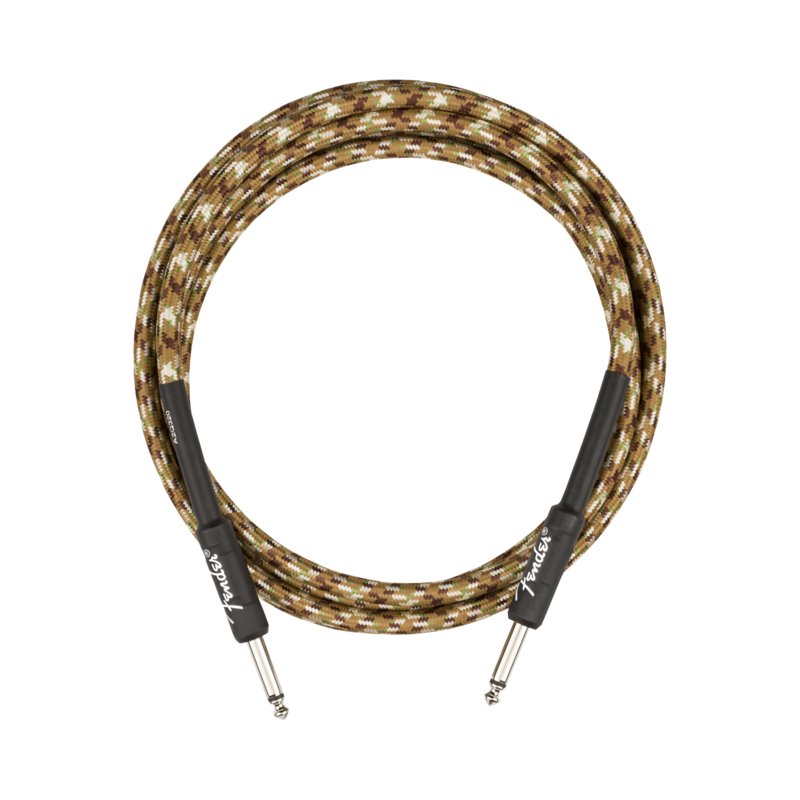 Fender NEW Fender Professional Series Instrument Cable - Straight/Straight - Desert Camo - 10'