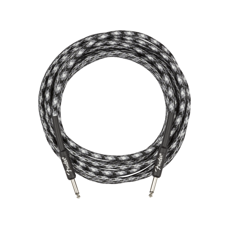 Fender NEW Fender Professional Series Instrument Cable - Straight/Straight - Winter Camo - 18.6'
