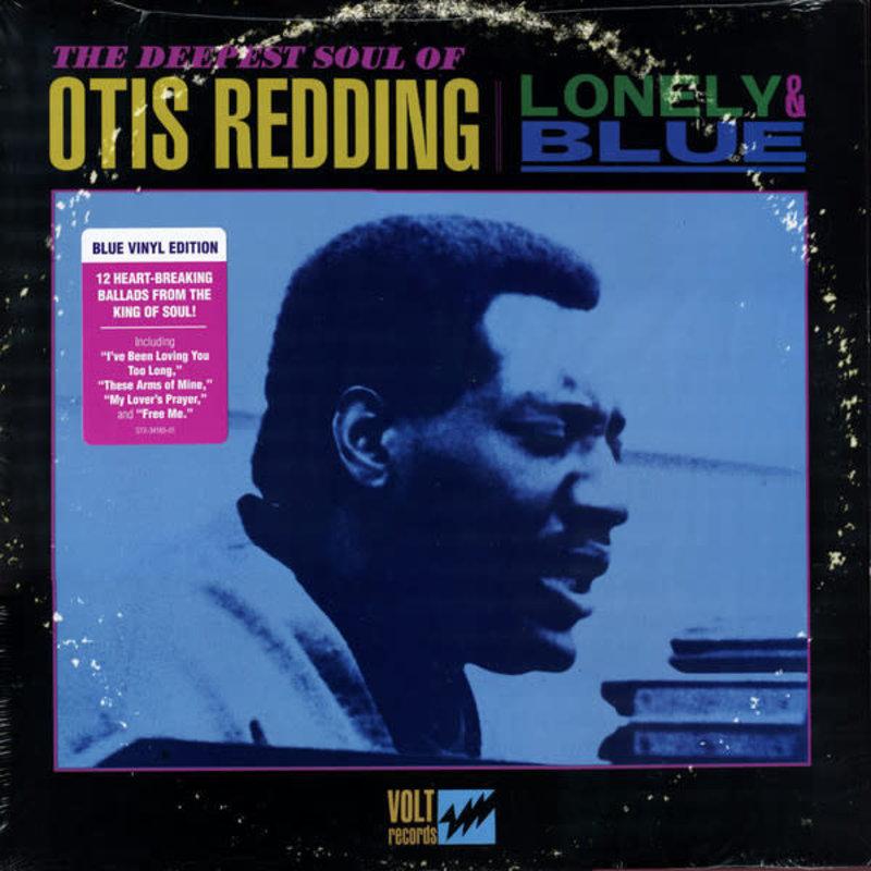 Vinyl NEW Otis Redding – Lonely & Blue: The Deepest Soul of Otis Redding-Vinyl, LP, Compilation, Blue