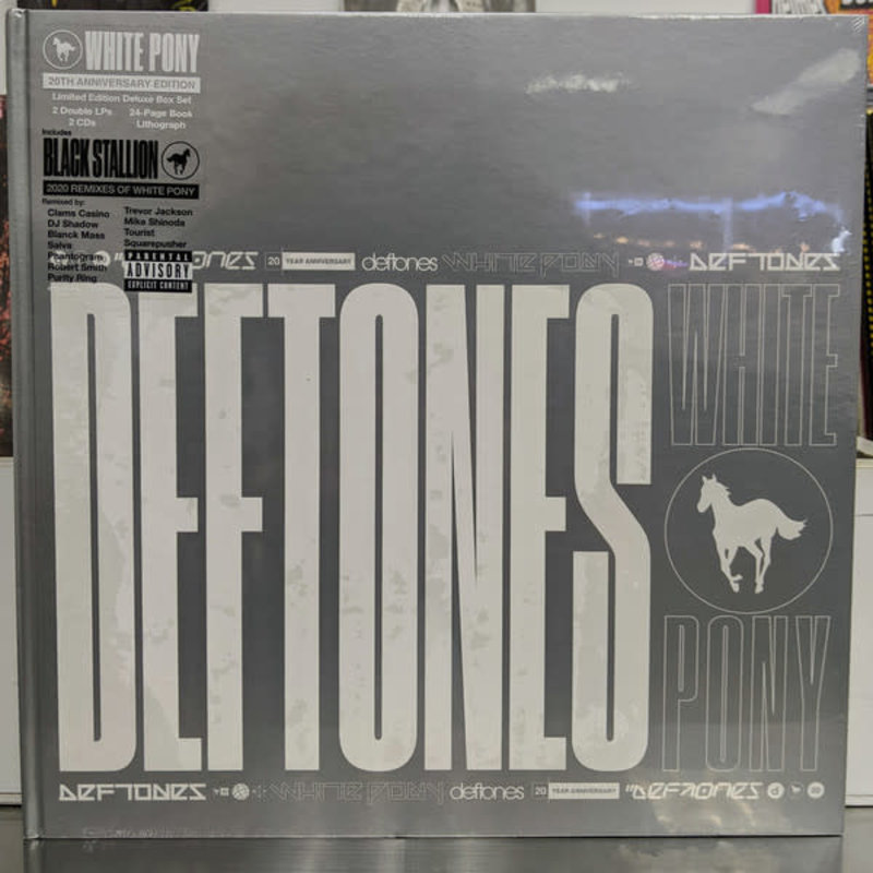 Vinyl NEW Deftones – White Pony-Box Set- Deluxe Edition, Limited Edition, Numbered