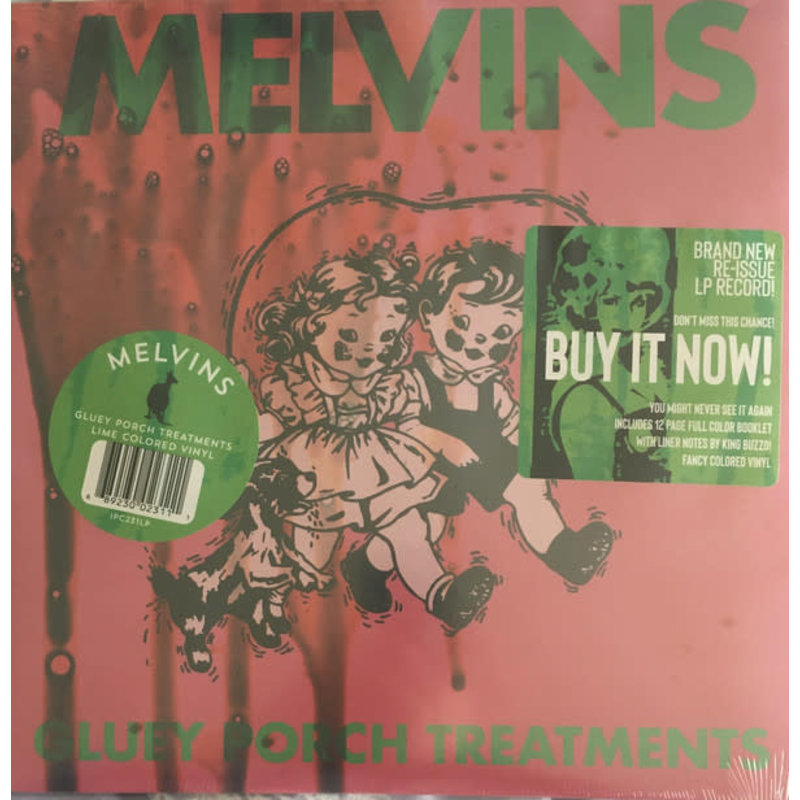 Vinyl NEW Melvins – Gluey Porch Treatments-Album, Limited Edition, Reissue, Stereo, Lime
