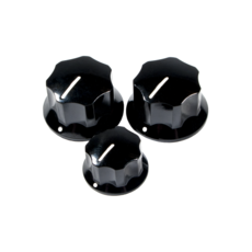 Fender NEW Fender Pure Vintage '60s Jazz Bass Knobs - Pack of 3