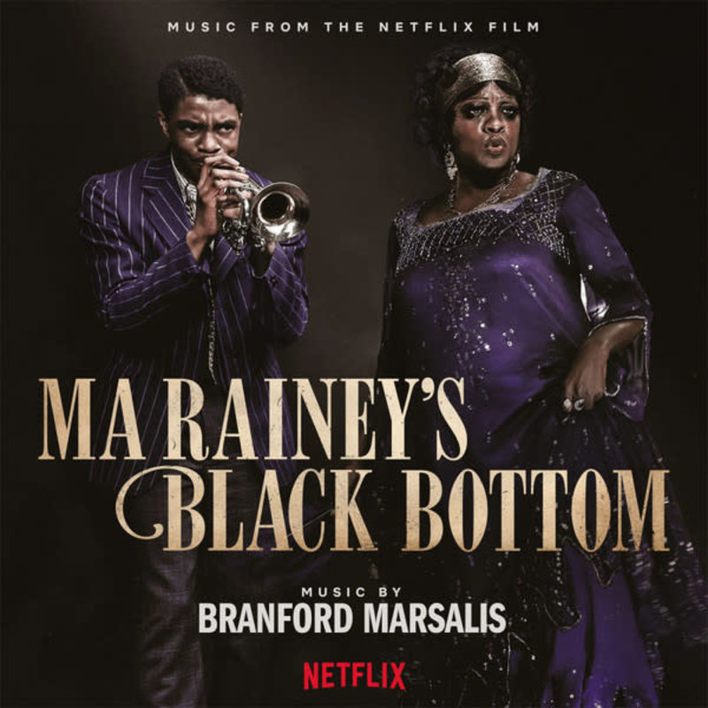 Vinyl NEW Branford Marsalis – Ma Rainey's Black Bottom-2 x Vinyl, Numbered, transparent blue