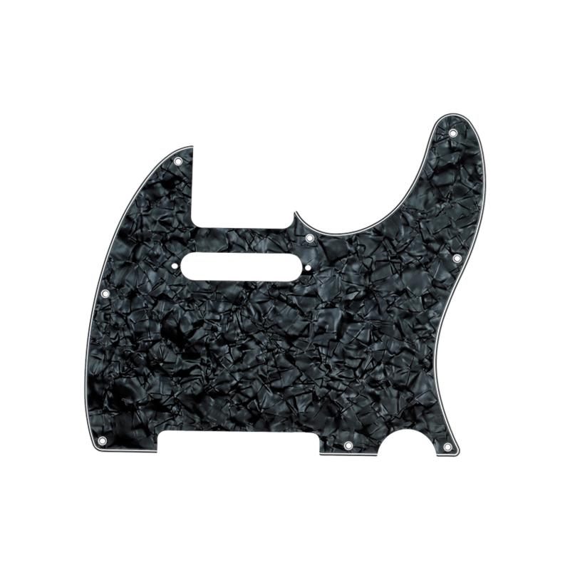 Fender NEW Fender Telecaster Pickguard - 4-Ply - Black Pearl