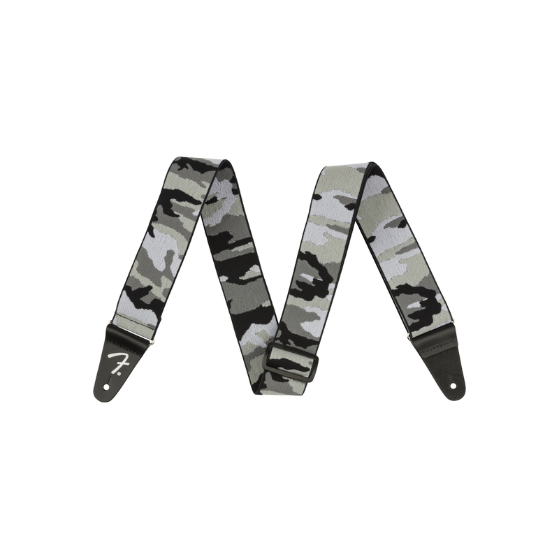 Fender NEW Fender WeighLess Gray Camo Strap