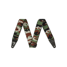 Fender NEW Fender WeighLess Camo Strap